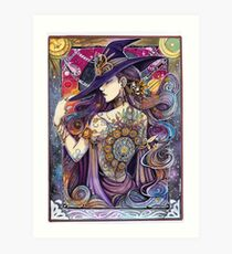 Youtube Artist collective. The Zodiac Witch Art Print