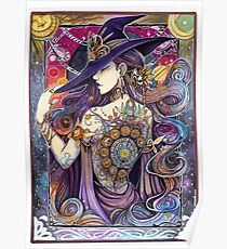 Youtube Artist collective. The Zodiac Witch Poster