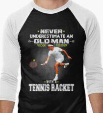 Roger Federer Tshirt Men's Baseball ¾ T-Shirt