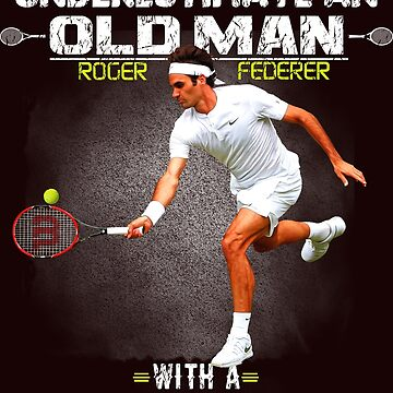 Roger Federer Tshirt by Mari54