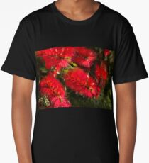 Bottle Brush Abstract 2 Long T-Shirt