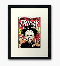 TFTS | Friday Framed Print