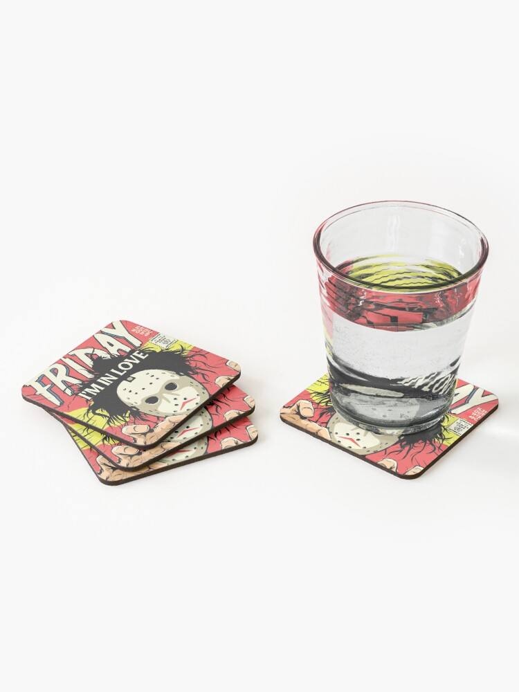Alternate view of TFTS | Friday Coasters (Set of 4)