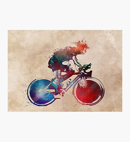 cyclist 2 #sport #cyclist Photographic Print