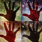 Four Cosmic Hands by ceemoon