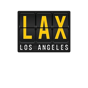 LAX - Los Angeles Airport Code by albertellenich