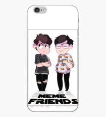 MEME FRIENDS iPhone Case