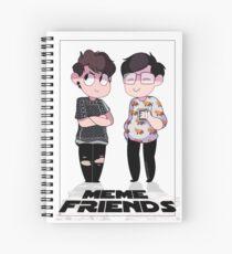 MEME FRIENDS Spiral Notebook