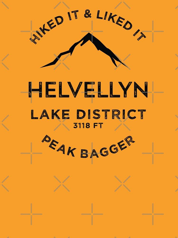 Lake District-Helvellyn Peak Bagging by broadmeadow