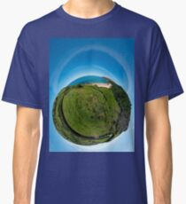 Kinnagoe Bay (as a floating green planet) Classic T-Shirt