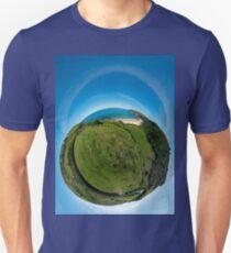 Kinnagoe Bay (as a floating green planet) Unisex T-Shirt