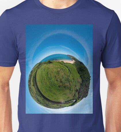 Kinnagoe Bay (as a floating green planet) T-Shirt
