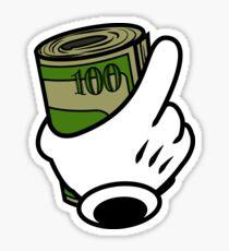 I MAKE MONEY MOVES Sticker