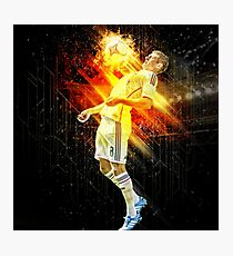 Toni Kroos On Fire Photographic Print