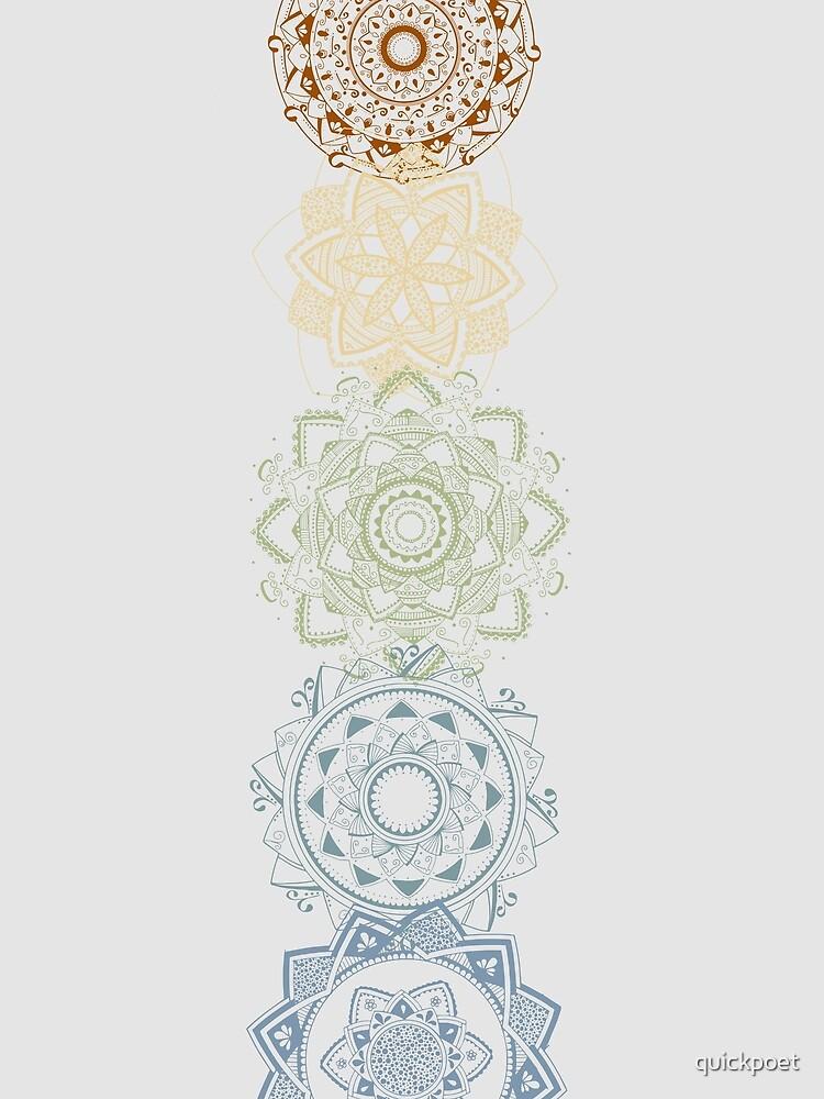 Chakra Mandalas von quickpoet