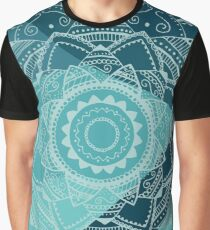 singing white mandala Graphic T-Shirt