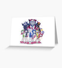 Super Bombermatsu R Greeting Card