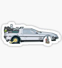 Busted: DeLorean DMC-12 Sticker