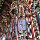 Medieval Rood Screen (Detail) by lezvee