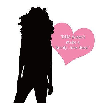 Lena Adams Foster - Love Makes A Family by MottSaroo