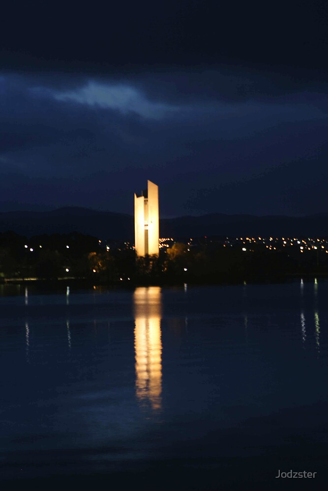 The National Carillon in Canberra by Jodzster