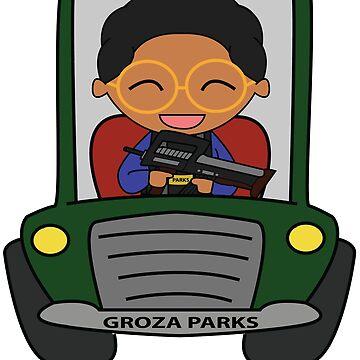 Groza Parks by KidCorgi