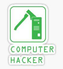 Computer Hacker Sticker