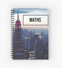maths Spiral Notebook