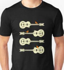 Birds On Guitar Strings Unisex T-Shirt