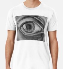 MC ESCHER EYE Men's Premium T-Shirt