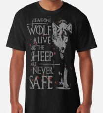 Thrones wolf t-shirt best quote Long T-Shirt