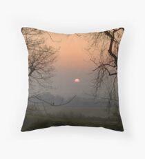 Framing The Sunrise Throw Pillow