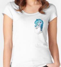 Pocket Bubble Lee Women's Fitted Scoop T-Shirt