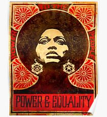 Angela Davis poster 1971 Poster