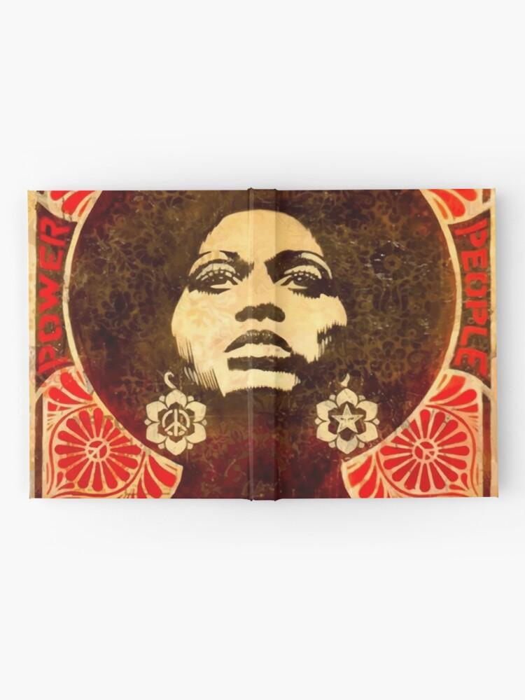 Alternative Ansicht von Angela Davis Plakat 1971 Notizbuch