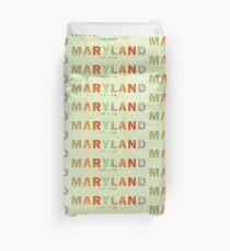 Modern Maryland Duvet Cover