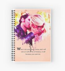 Captain Swan- Win Your Heart Spiral Notebook