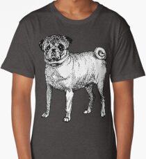 Fawn Pug Long T-Shirt