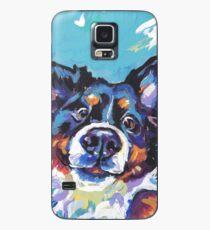 Bernese Mountain Dog Bright colorful pop dog art Case/Skin for Samsung Galaxy