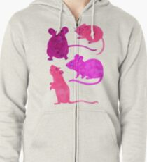 Rodents  Zipped Hoodie