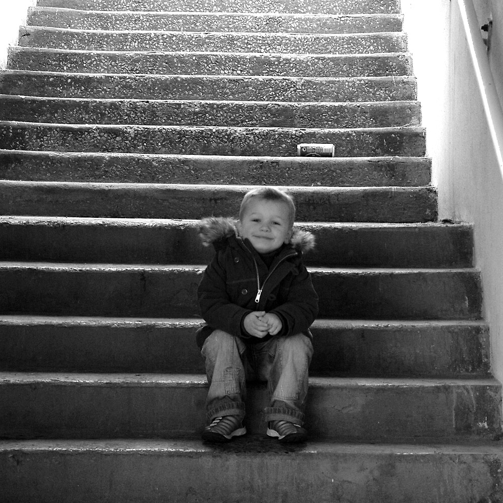 Half way up the stairs by PeteG