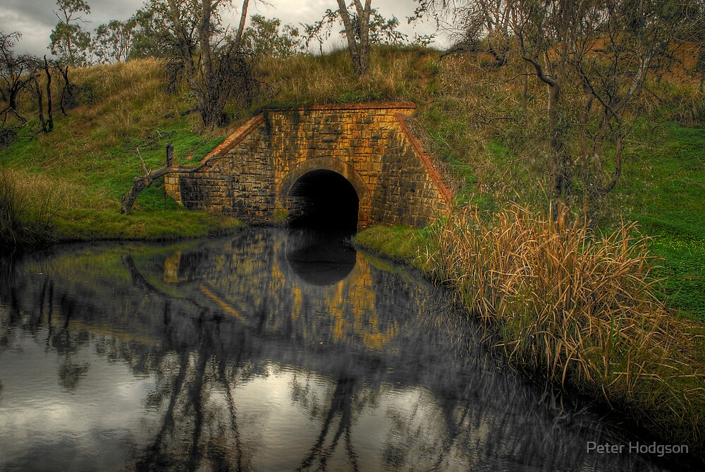 The Old Tunnel by Peter Hodgson