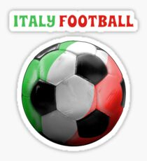 Italy Football And Soccer Sticker