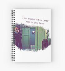 Captain Swan | Better Man Spiral Notebook
