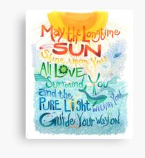 Long Time Sun Canvas Print