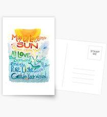 Long Time Sun Postcards