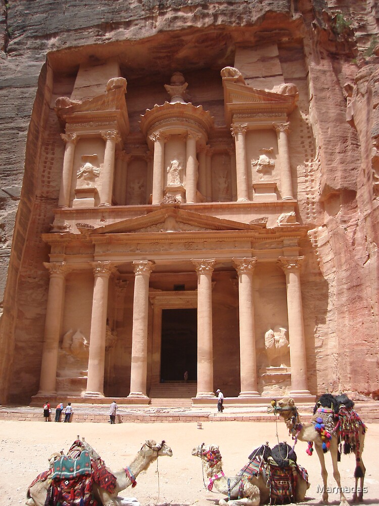 The Splendour of Petra by Marmadas