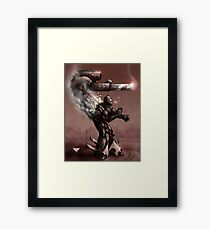 Mortar of Apocalypse  Framed Print