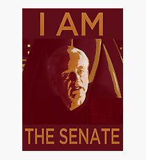 I AM THE SENATE Photographic Print