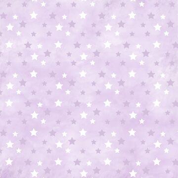Purple & White Stars by keltickat